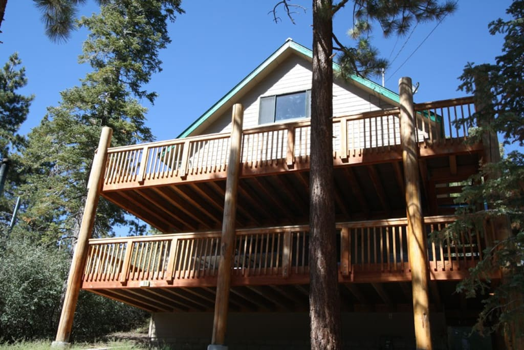 Perfect Multi Family Cabin Cabins For Rent In Big Bear