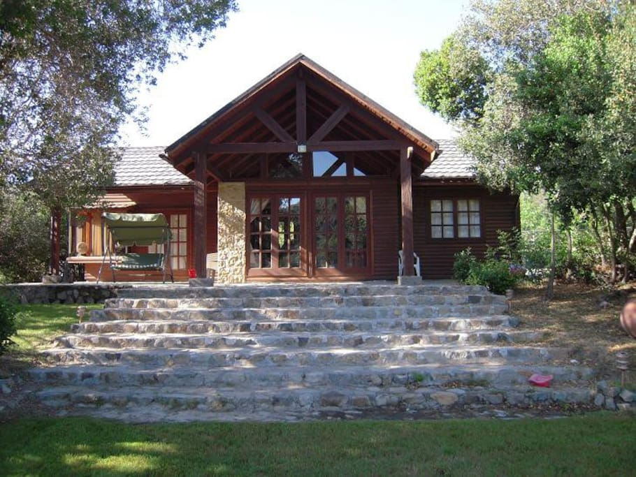 Casa acogedora de madera pino oregon