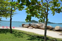 a view of the main beach