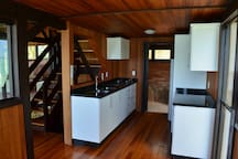 Kitchen of the beach house