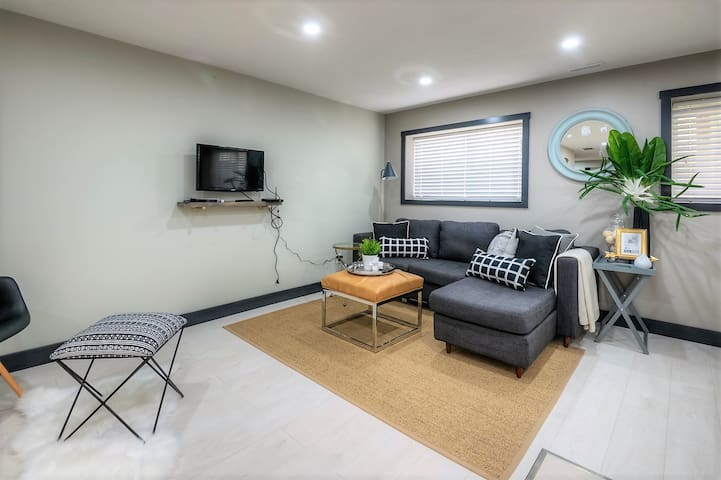 Comfy sectional for ultimate relaxation