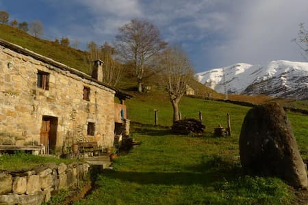 Typical mountain cabin in Cantabria - San Roque de Riomiera - Ház