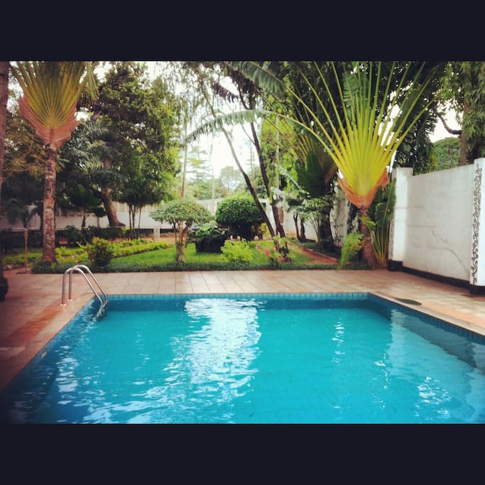 Eureka pool house houses for rent in dar es salaam dar es salaam tanzania for Swimming pools in dar es salaam