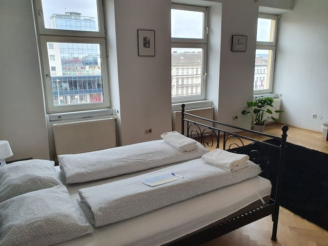 Big stylish room in the center of Vienna