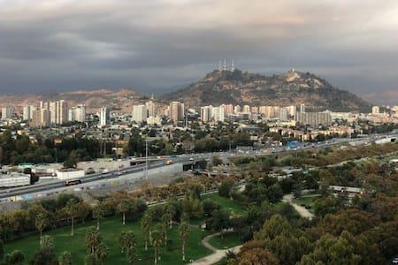 Para alojar en Familia, la mejor vista de Santiago