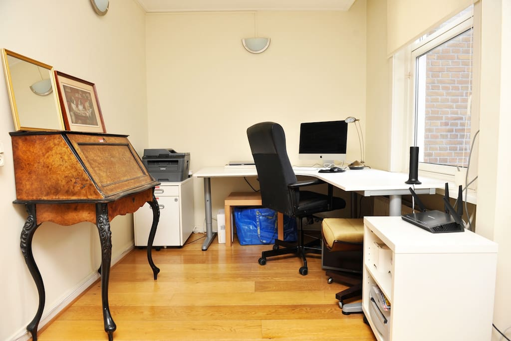 working space with desk