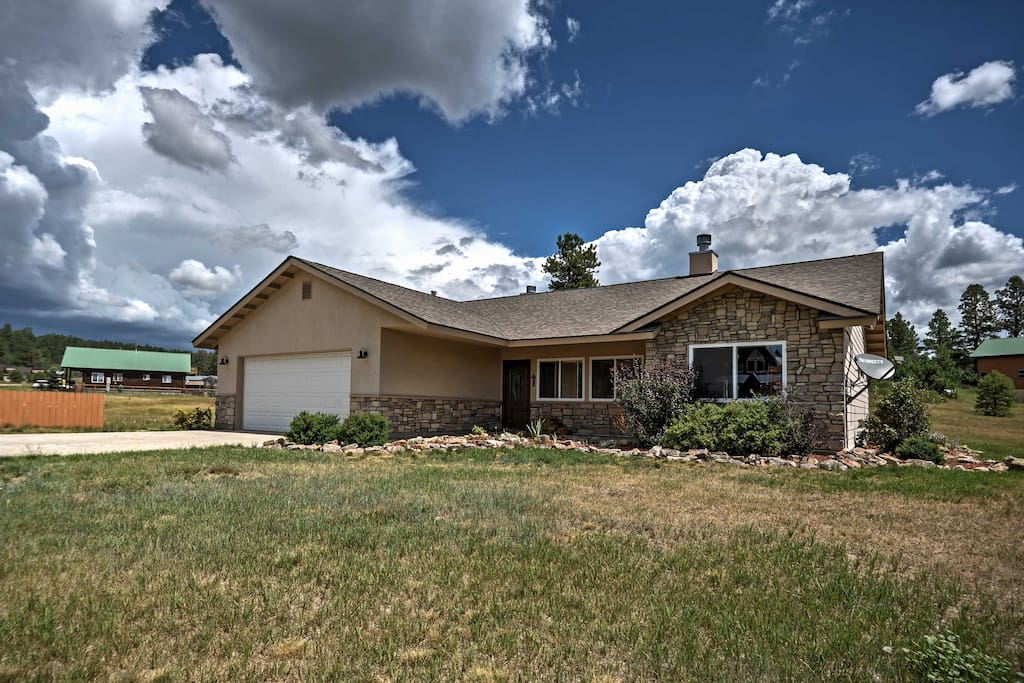 Find a home-away-from-home at this Pagosa Springs vacation rental property!
