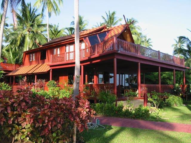 Pad Thai - 5br - Beachfront Villa - เกาะสมุย - วิลล่า