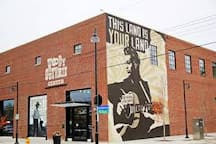 Woody Guthrie Museum in walking distance in the Brady Arts District