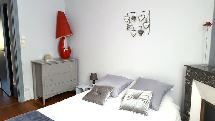 Appartement à 10 mn à pied de la place Stanislas