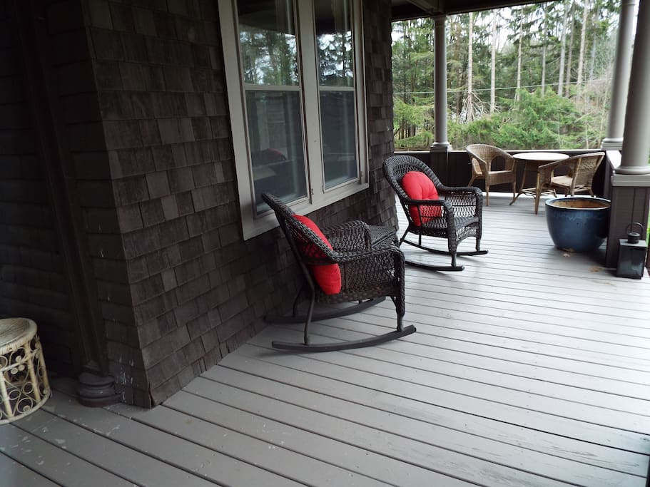 Front Porch for Rocking and Reading and Sipping