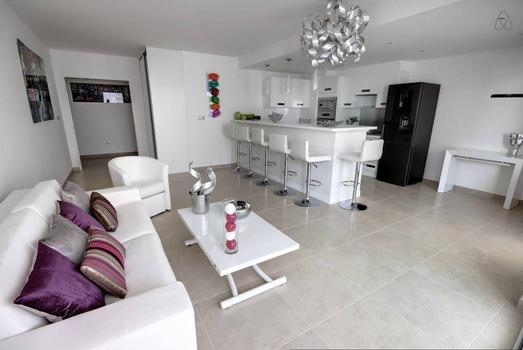 30m² living room / kitchen