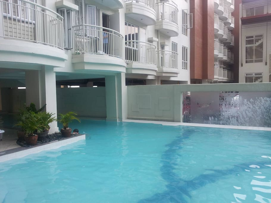 Pool area at 3rd Flr