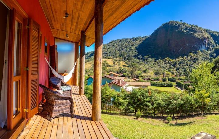 Casa Vista da Gávea Refugio em Visconde de Mauá