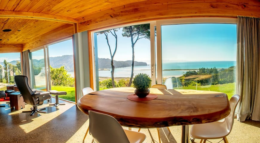 Kiwi Greenie, Eco-house, Golden Bay - Wainui Bay