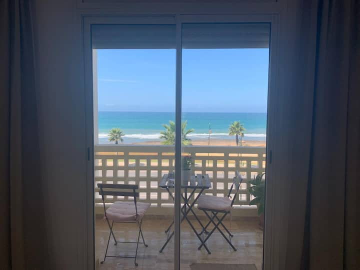 Appartement très cosy avec magnifique vue sur mer