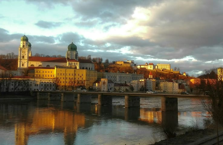VIEW near UNI and OLD TOWN - Passau - Townhouse