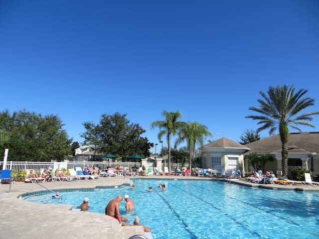 This is one of the best pools in Central Florida . The heating is strong