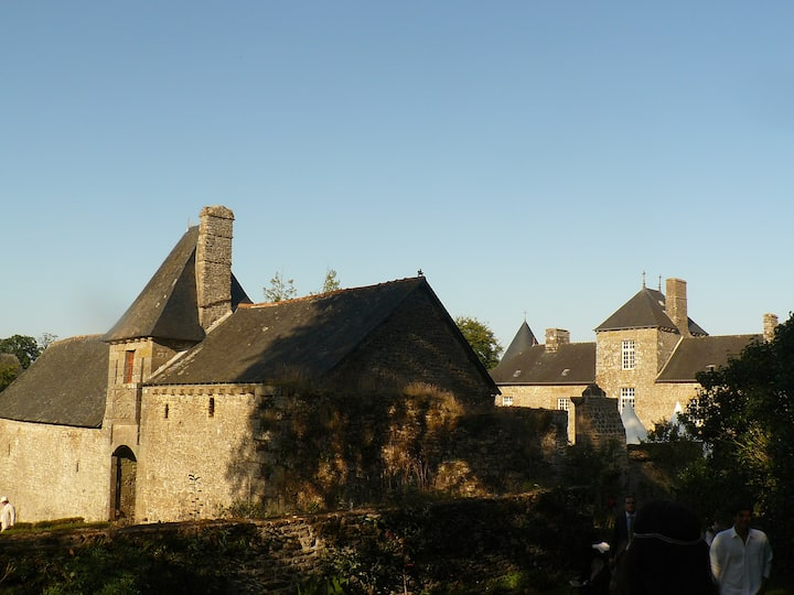 17th century old French Castle