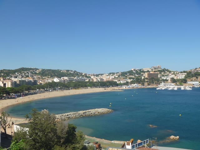Small apartment with a view to the sea - ideal pairs - (HUTG-19769) - Sant Feliu de Guíxols - Lejlighed