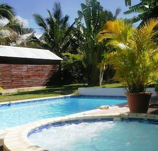 house, swimming pool, SPA, 15 min.  - Entre-Deux