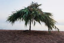 Vounaki Beach - Exotic Natural Handmade Sunshade