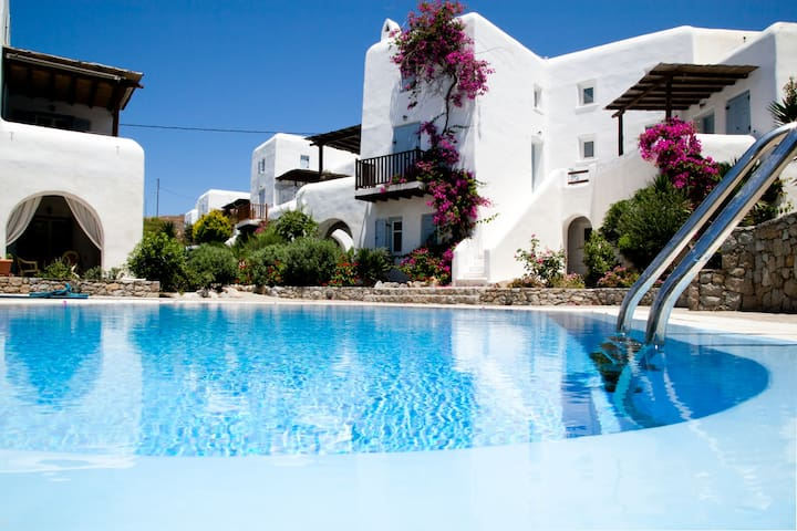 House at ornos with swimming pool 2 - Mikonos - House