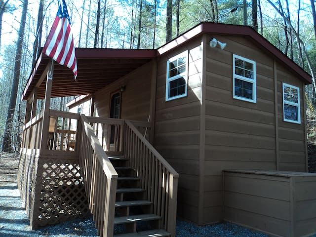 Our Tiny Cabin - Ellijay - Huis