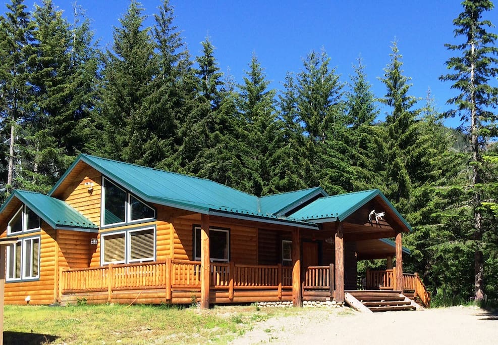 Twin ponds cabin family getaway cabins for rent in for Washington state cabins for rent