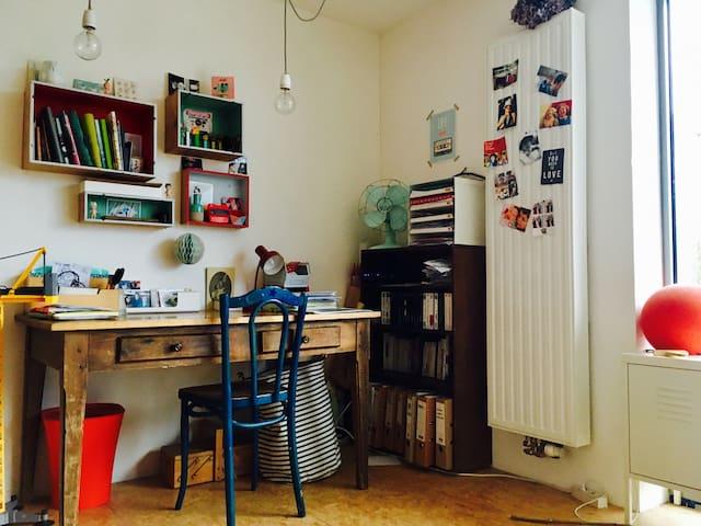 Maison chaleureuse et lumineuse - Ottignies-Louvain-la-Neuve - Rumah