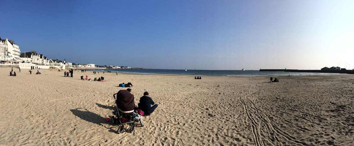 La plage & le centre à pieds! - Quiberon - Kondominium