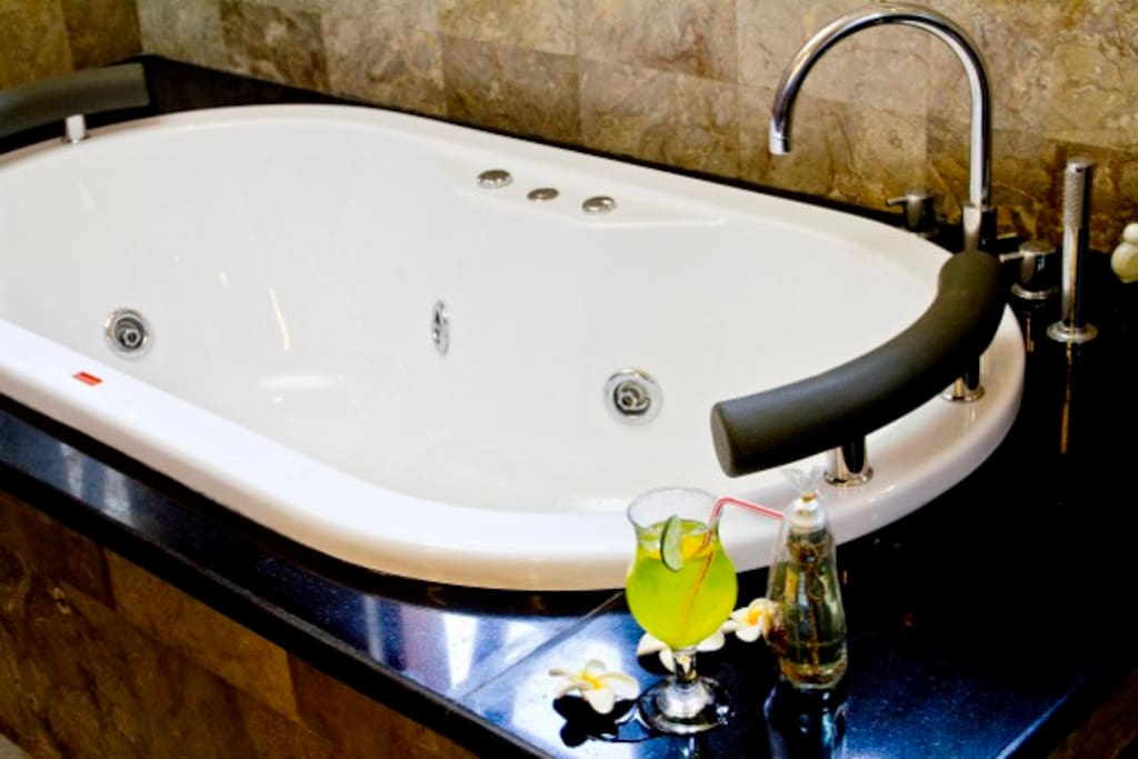 Enjoy your own private luxury spa bath
