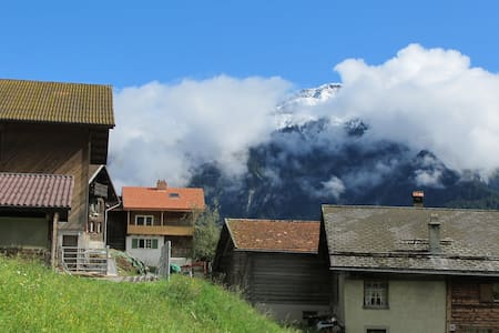 Holiday flat in Swiss Mountains - Castiel - Apartmen