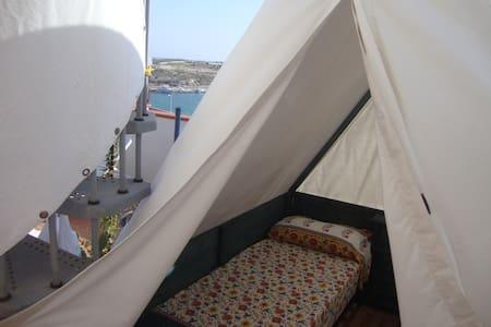 TENDA SUL TERRAZZO 360° - Lampedusa e Linosa