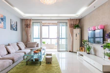 临运河近西湖—阳光飘窗独立卫浴超大房,枕水风情小调, 146㎡完美空间 - Hangzhou - Pis