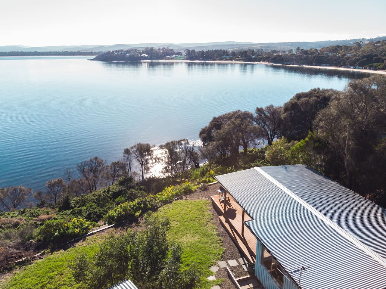 You will be blown away by the breathtaking views and seclusion of Seaside Haven.Absolute waterfront with a private track down to the waters edge. Perched neatly on the northern side of magnificent Spectacle Headland for you to explore.
