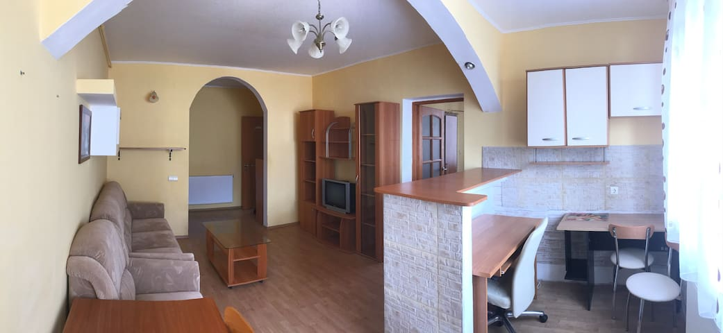 Typical Romanian flat in a residential area - Sibiu