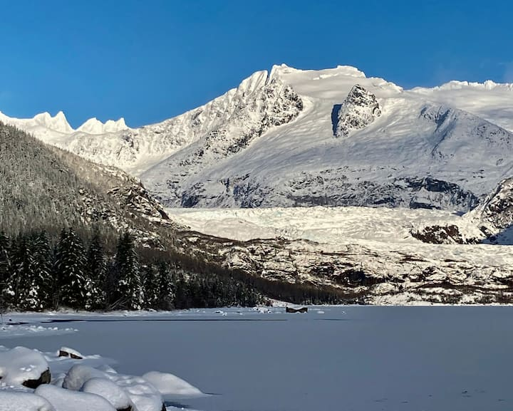 Glacier's Edge Retreat