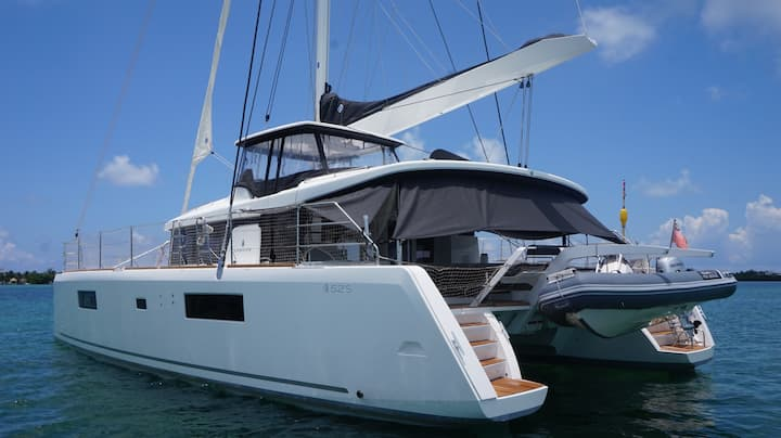 Private NEW Catamaran Luxe  52 Sport Isla Mujeres
