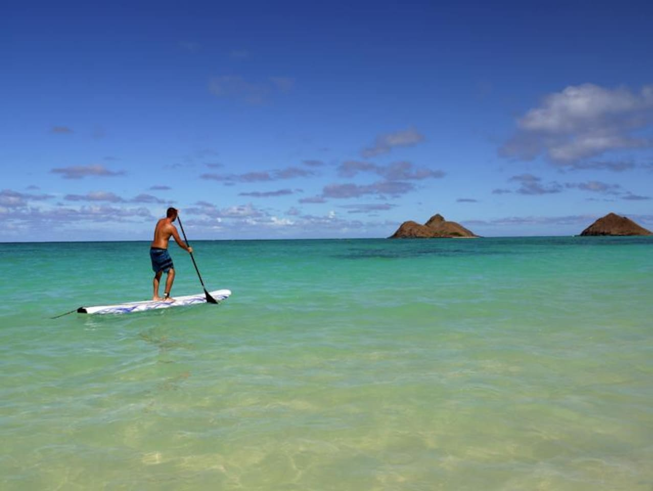 Enjoy the peace and serenity at Kailua Blue Ocean Breeze
