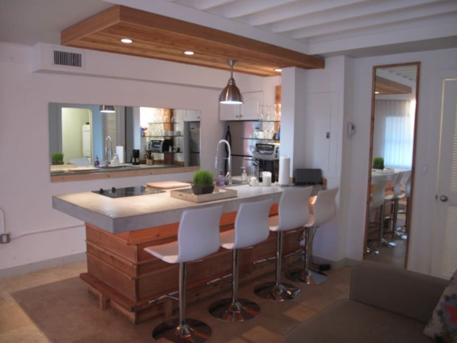 Open Kitchen area.