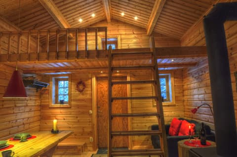 Cottage at Wild River in Lapland