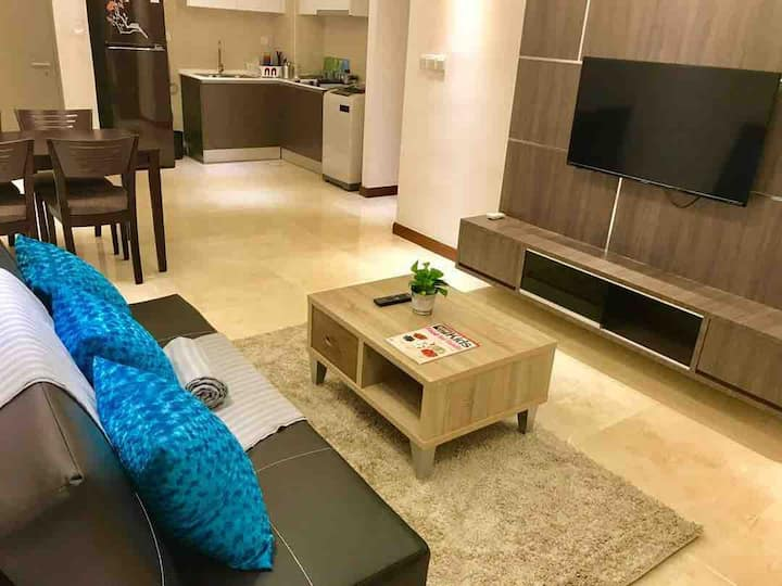 Silverscape A18/2room(Seaview&City View)/WIFI.