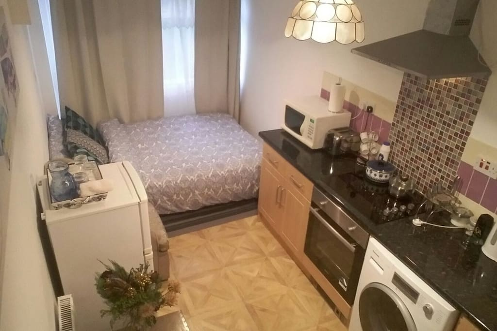 Sofa Bed cum Kitchen