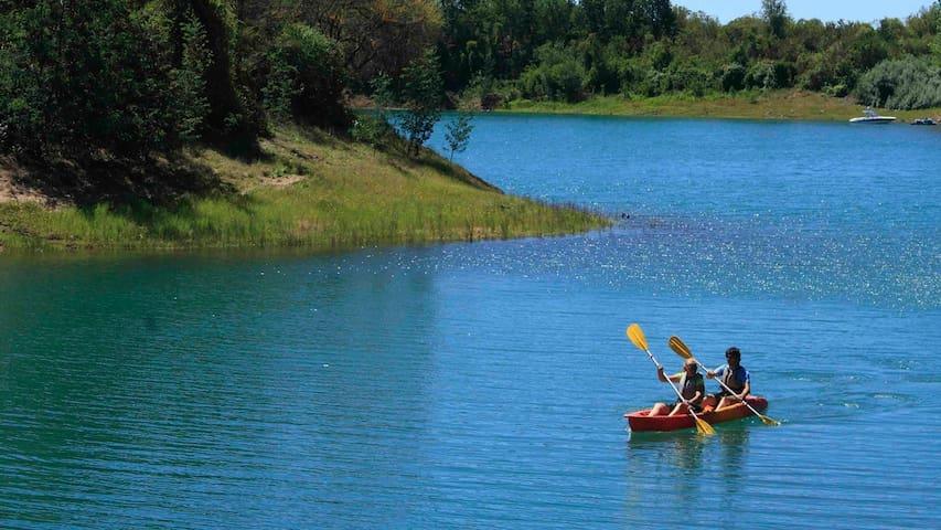 Naturaleza, Cicloturismo y Vino en Lago Colbún