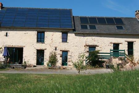 Ecolodge La Belle Verte - Saint-M'Hervé - Huis