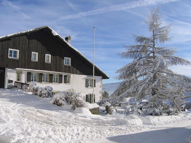 Chez Antoinette - Les Breuleux - Apartment