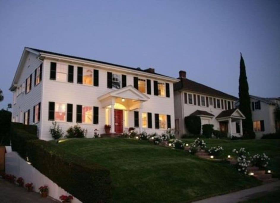 1920's colonial house with lovely architectural details and modern amenities