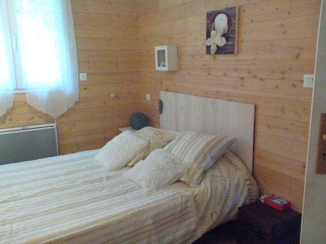 Chambre et salle de bain privées - Narrosse