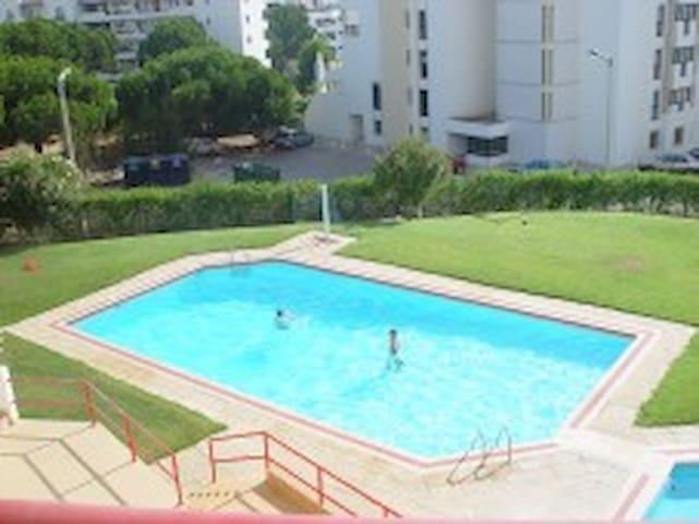 O empreendimento Edifícios Caroni dispõe de uma piscina para adultos e de uma piscina acuplada para crianças. A piscina fica situada numa área relvada e com pinheiros.